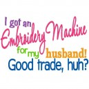 Embroidery Machine Trade