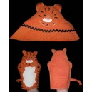 Tiger Towel and Mitt Set