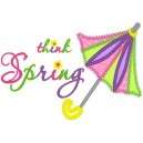 Think Spring Umbrella