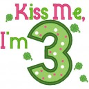 Kiss Me I'm Three
