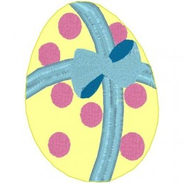 Egg With Bow Clippie