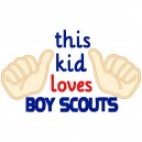 This Kid Loves Boyscouts