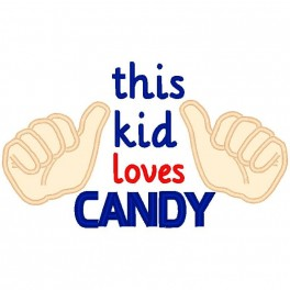 This Kid Loves Candy
