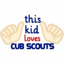This Kid Loves Cub Scouts
