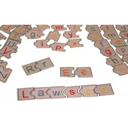In Hoop Puzzle Alphabets