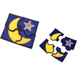 In Hoop Puzzle Moon And Stars