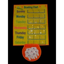 In Hoop Tooth Brushing Chart