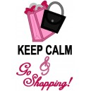 Keep Calm And Go Shopping