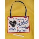 In the Hoop Countdown Military Member Comes Home