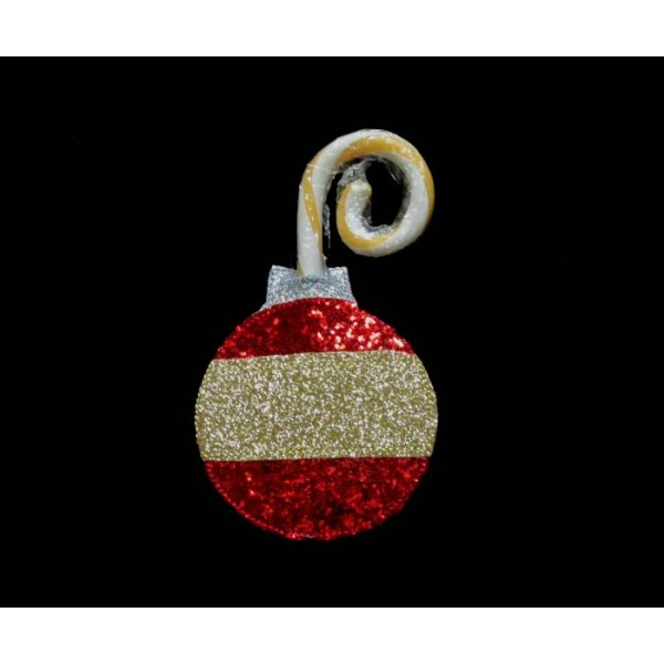 in the hoop ornament candy cane holder give your candy canes some