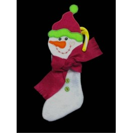 In the Hoop Snowman Stocking