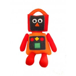 In the Hoop Rickie the Robot Stuffie