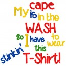 Cape is in the Wash. . . .