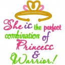She is the Perfect Combination of Princess and Warrior