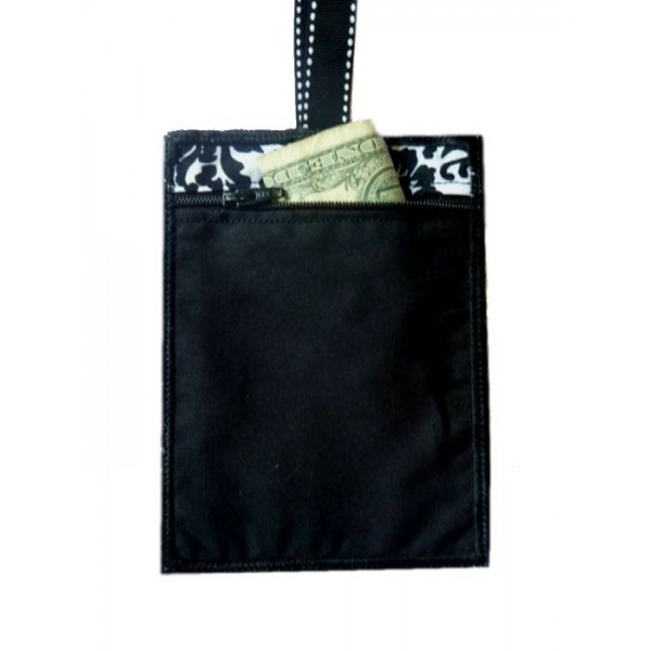 In The Hoop Badge Holder With Zipper Back on Zipper Sizes