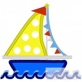 SailBoat with Banner