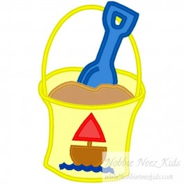 Sand Bucket with Boat