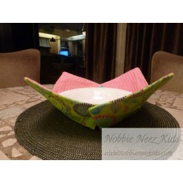 In the Hoop Fabric Bowls