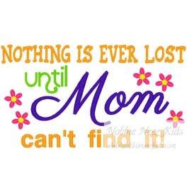Nothing Lost Mom