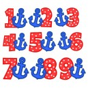 Numbers With Anchors