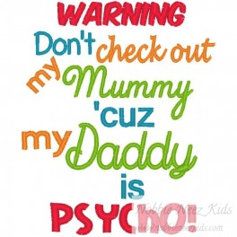 Check out Mummy Daddy Pyscho