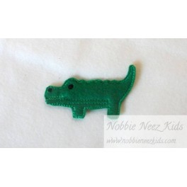 Alligator Bobbie Pin Buddy