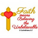Faith Unbelievable