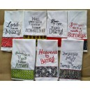 Vintage Kitchen Towel Saying Set2