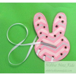 Little Lacer Card Bunny