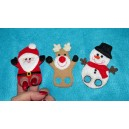Christmas Finger Puppets