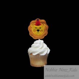 Lion Cupcake Toppers