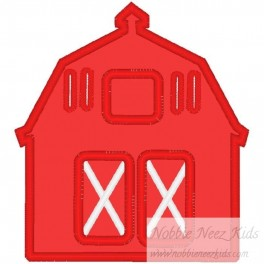 Red Barn Banner