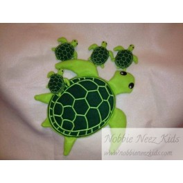 Tori the Turtle and Her Babies