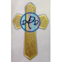 Monogram Cross Design