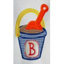 Monogram Bucket and Shovel