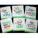 Southern Sayings for Kitchen Towels