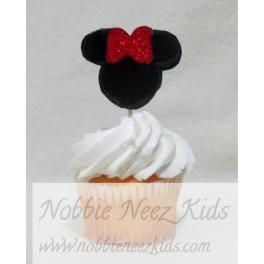 Ms Mouse Cupcake Topper