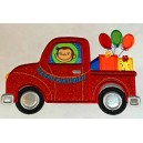 Applique Birthday Truck
