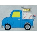 Applique Baseball Truck
