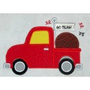 Applique Basketball Truck