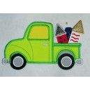 Applique Fireworks Truck