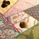In Hoop Center Rhombus Quilt Square