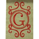 Fanciful Monogram Frame2