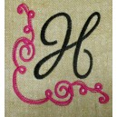 Fanciful Monogram Frame3