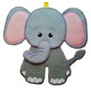 In Hoop Elephant Door Hanger