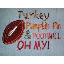 Turkey Football Saying