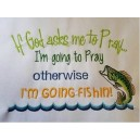 Pray Fish Saying