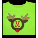 Monogram Reindeer Design