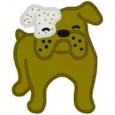Bulldog Full Applique Mega Hoop Design