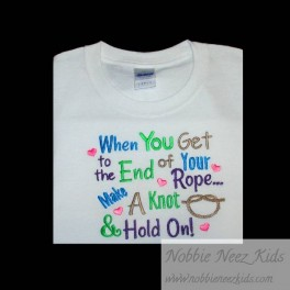 End of Rope Saying